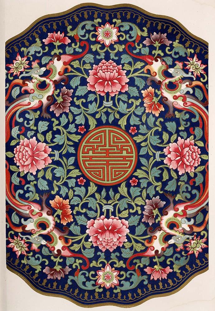 绘画素材 中国古代传统纹样 地毯装饰 服装布艺设计 中国风