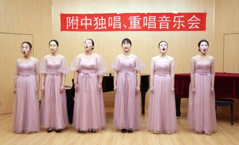 沈阳音乐学院附中学生考前演练
