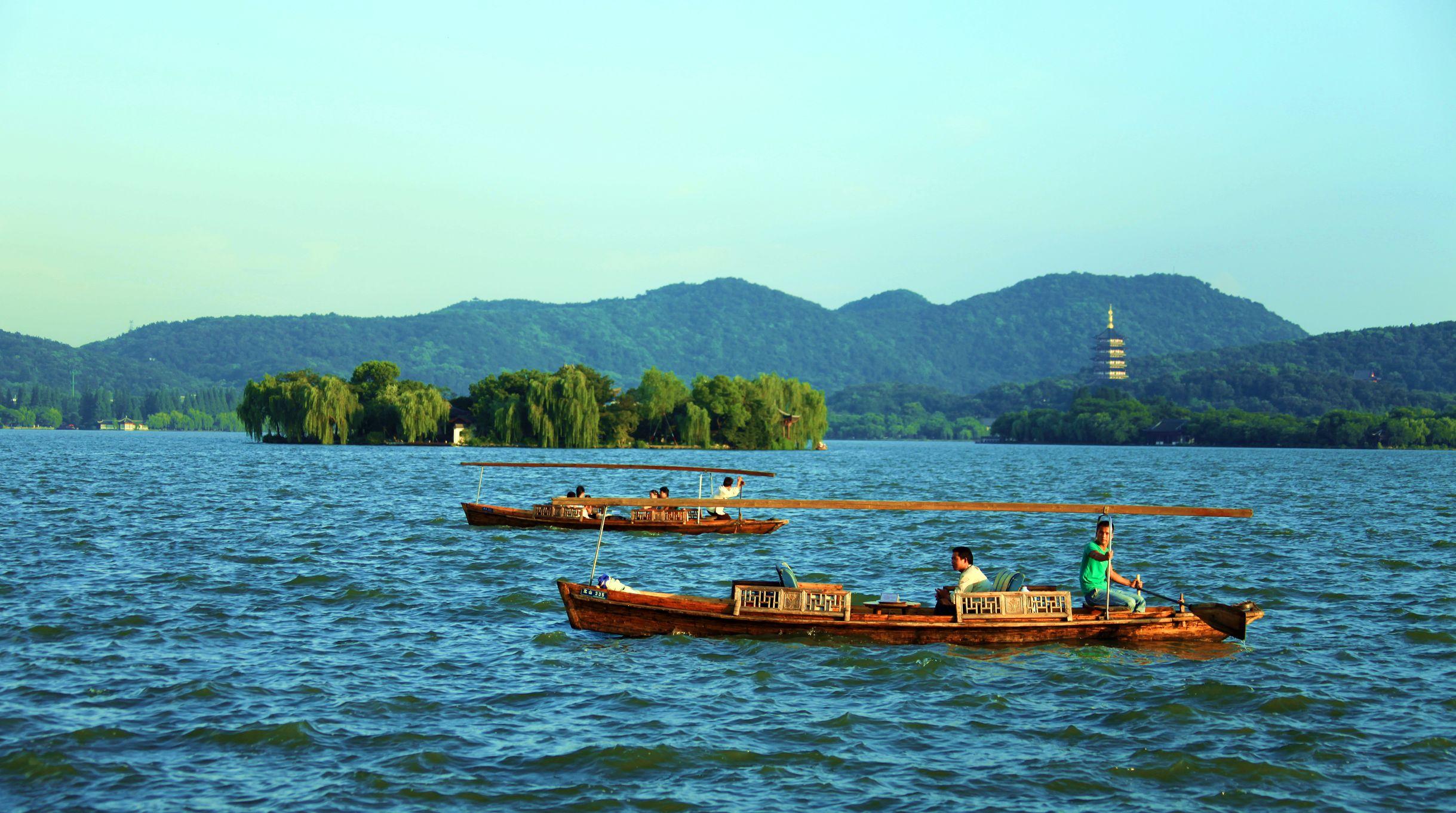 杭州西湖十景之一