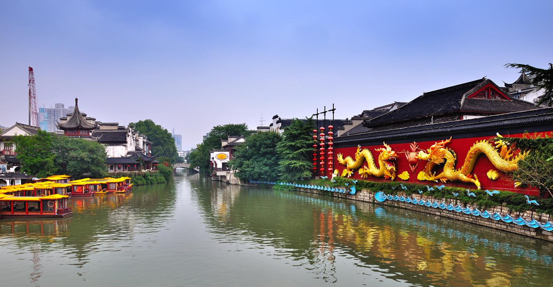 千年秦淮灯火河畔