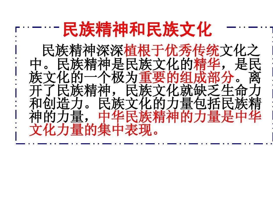 中华民族精神