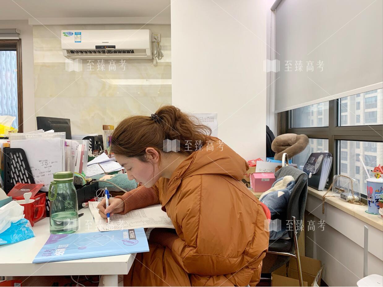 武汉艺考生教师正在准备网课